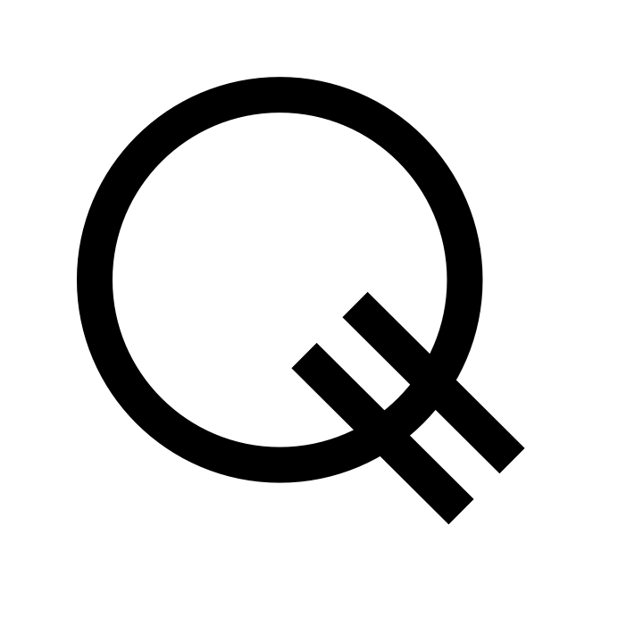My proposed Q currency symbol